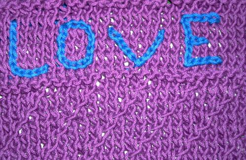 Love Wash Cloth