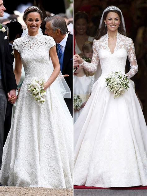 Pippa & Kate Middleton?s Wedding Dresses: Whose Stunning