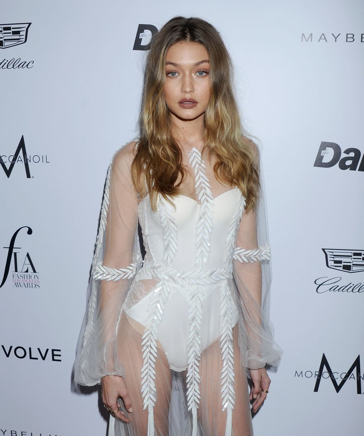 GIGI HADID at Daily Front Row's Fashion Los Angeles Awards in West Hollywood 03/20/2016