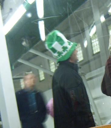 St Patricks Day Hat at Hammersmith