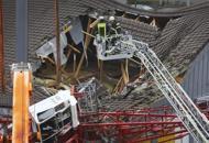 Germania, gru crolla su supermercato: un morto e 5 feriti