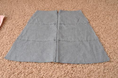 Barcelona Skirt ~ In Progress