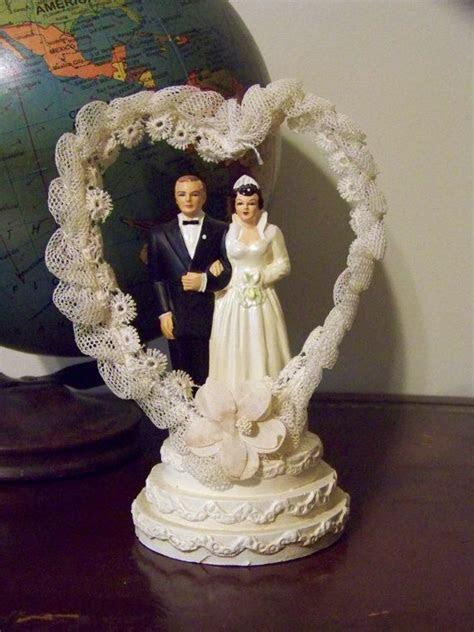 226 best Vintage Wedding Cake Toppers images on Pinterest