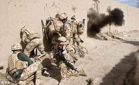 British troops participate in Operation Diesel