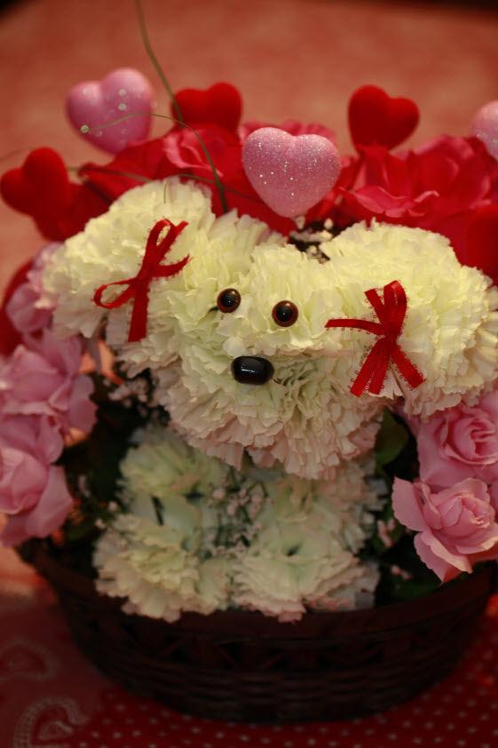 Los perritos de Frannie. Mascotas florales.