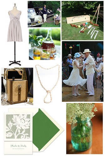Great Gatsby Lawn Party Home Decorating Ideas