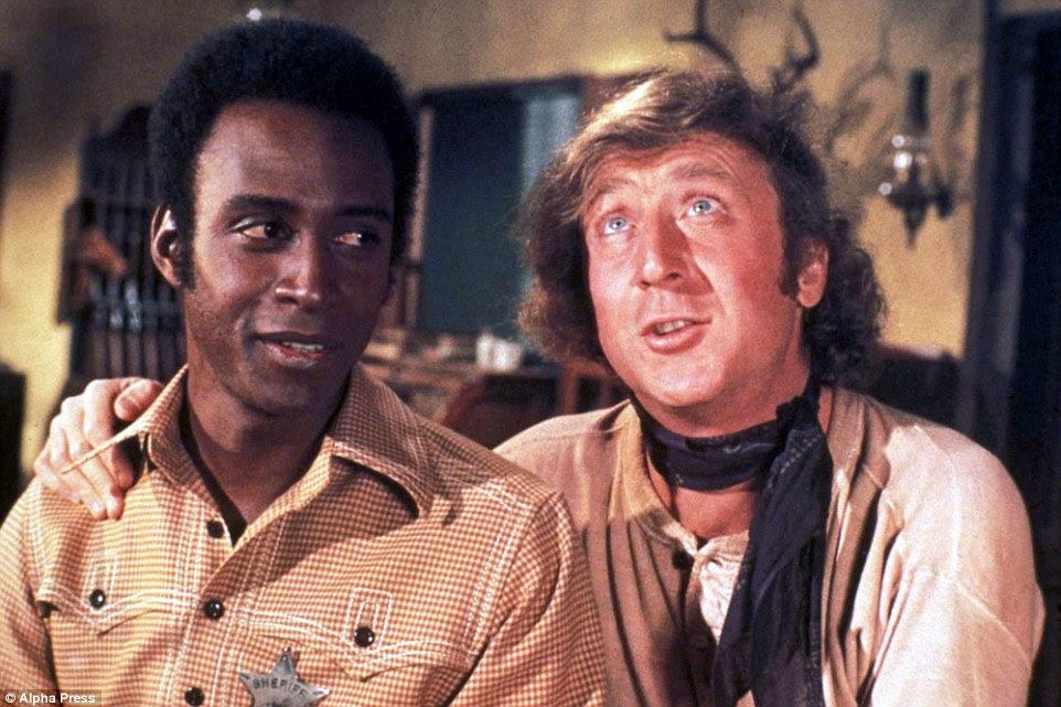 Wilder (na foto, à direita, com Cleavon pequeno em Blazing Saddles) manteve sua batalha com o segredo de Alzheimer porque ele não podia suportar a idéia de menos um sorriso do mundo '