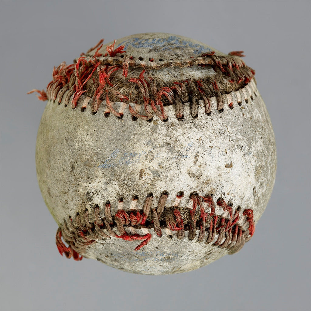 Found Baseball still life