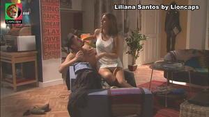 Liliana Santos sensual na novela Louco Amor