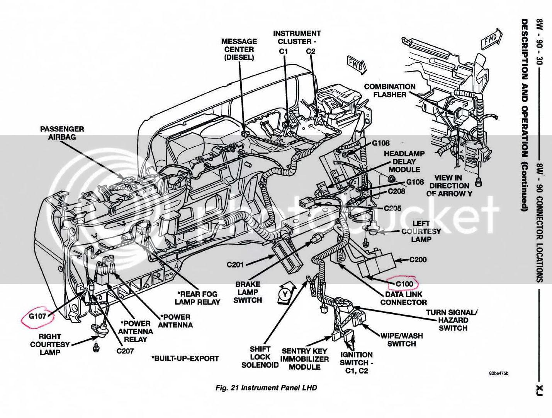 1997 Jeep Grand Cherokee Engine Diagram