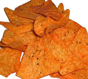 Nacho Cheesier flavor Doritos