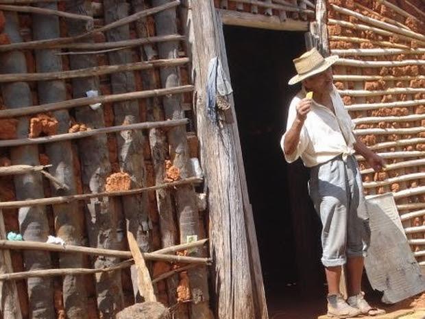 João Ventura é um genuíno caipira, que ainda sobrevive no interior de São Paulo (Foto: Arquivo Pessoal)