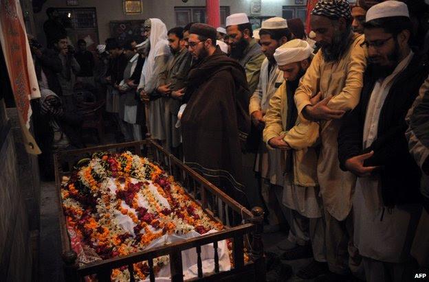 A funeral in Peshawar, 16 December