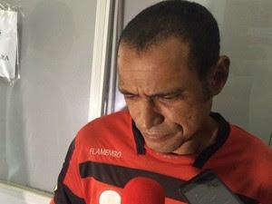 Vou entregar a Deus, diz homem que confessa estupro e morte  (Foto: Tasssio Andrade/G1)