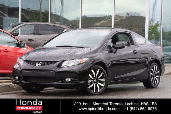 Used 2013 Honda Civic Coupe Ex L Deal Pending Wnavi Cuir Bas Km For