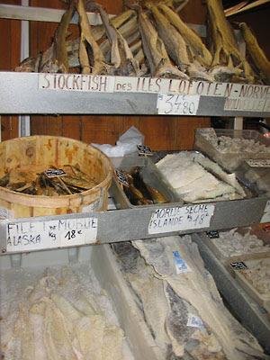 Morue et stockfish Nice