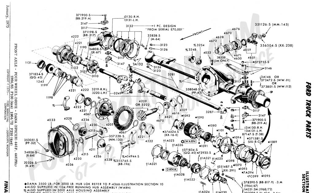 34 ford f350 front end diagram