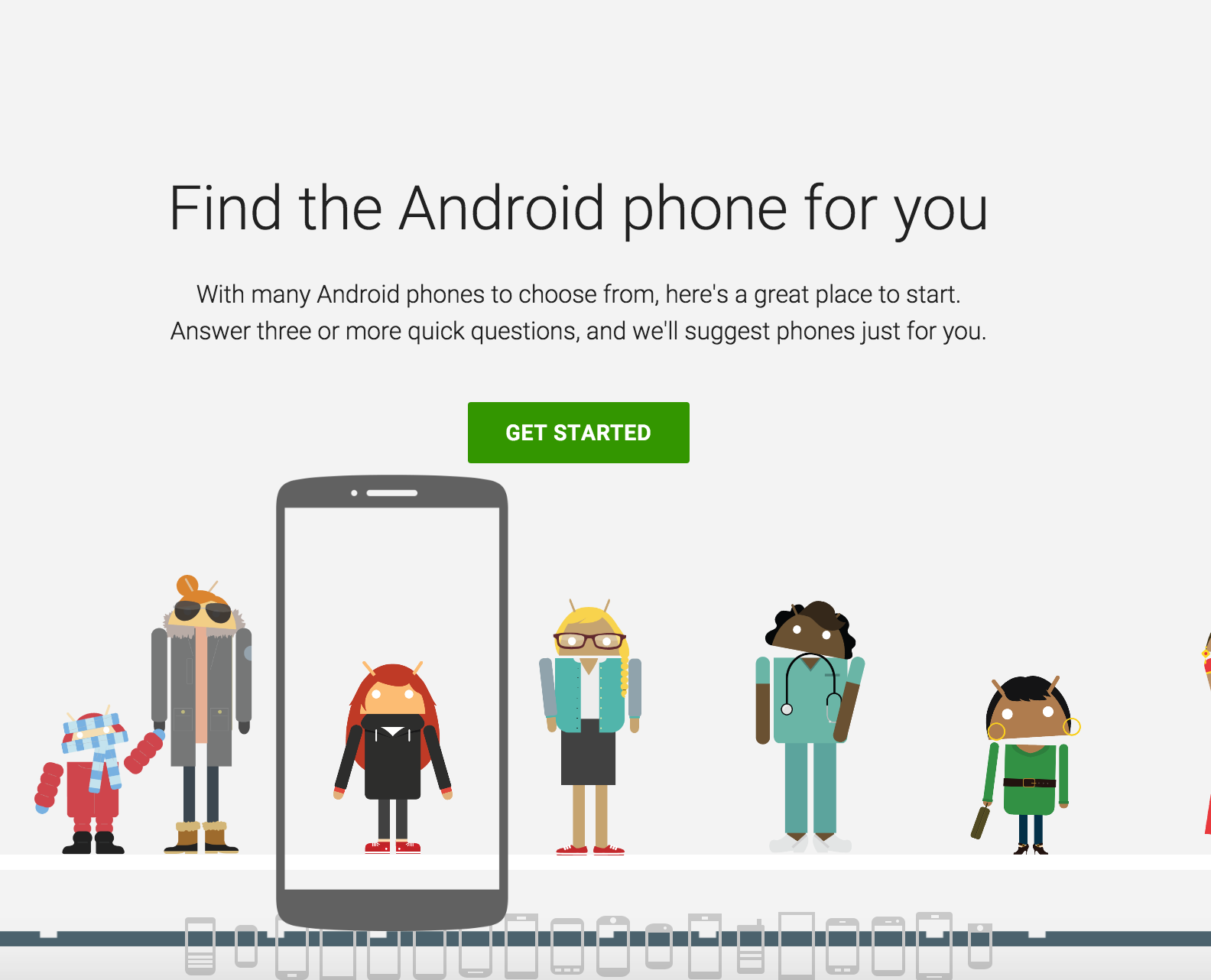 Google's wants to help you pick your next phone with new online tool
