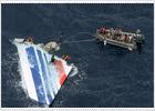 Restos encontrados del Airbús francés siniestrado en junio de 2009