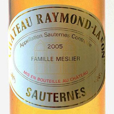 Chateau Raymon-Lafon 2005 Sauternes