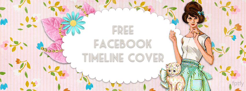 Free Vintgae Facebook Timeline Cover by sahlin studios and fptfy  web ex
