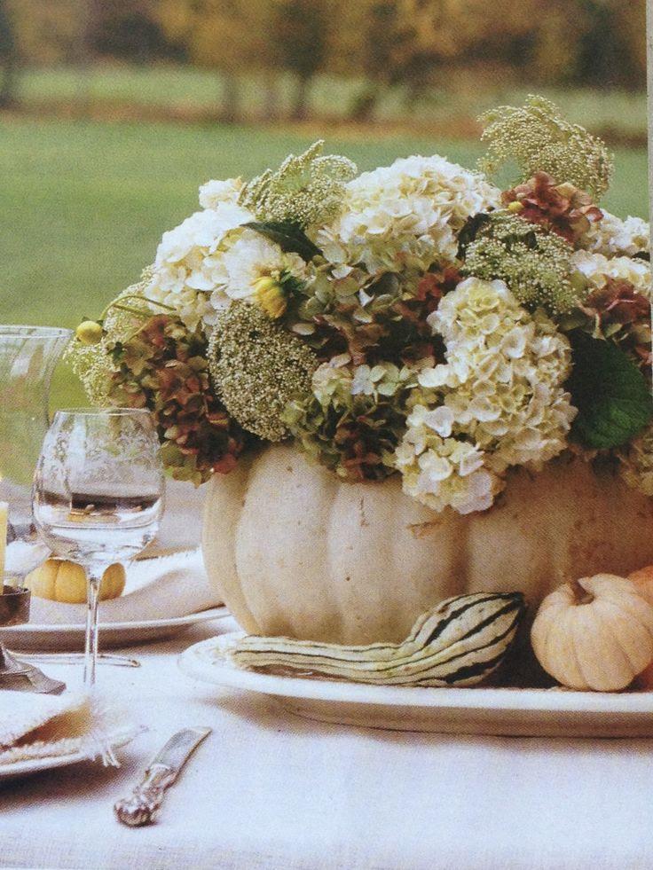 Autumn Cottage Magazine 2012 -gentle fall decor...greens and creamy whites.