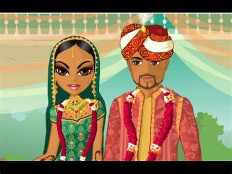 Indian Wedding Bollywood Bride: Dress Up Games   Indian