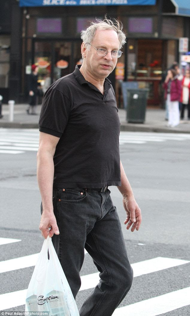 Out and about: Bernie Goetz, 64, has been a free man since he served eight months in jail for a criminal weapons charge after a long and highly-publicized trial for having shot four men he believed were going to mug him