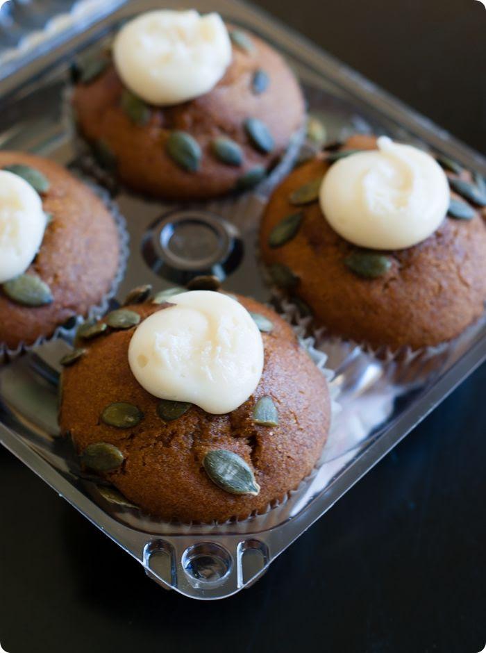 trader joe's pumpkin cream cheese muffins review