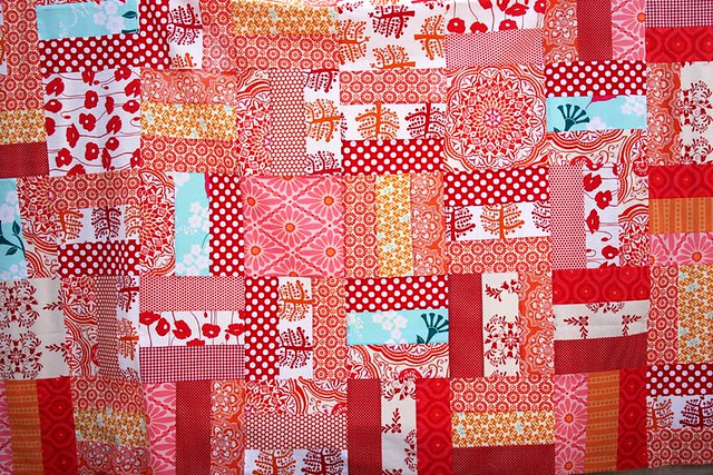 Red quilt top 2