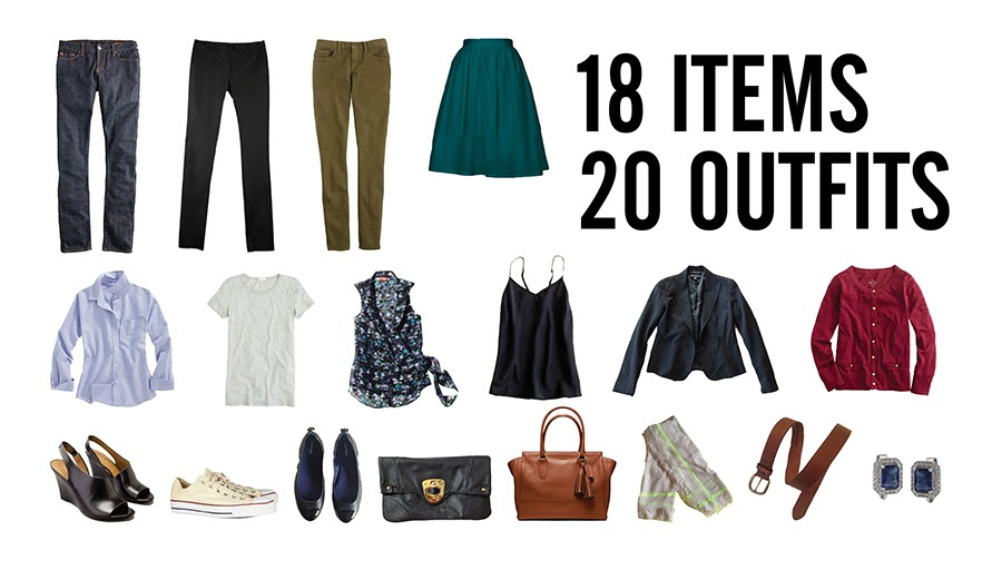 Stylebook Closet App: Packing Lists: 8 Tips to Pack 20 Outfits in ...