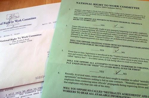 Anti-Union Questionnaire