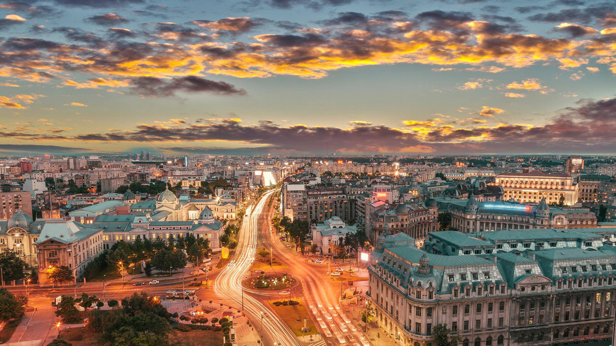 Bucharest HD Desktop Wallpaper 27686  Baltana