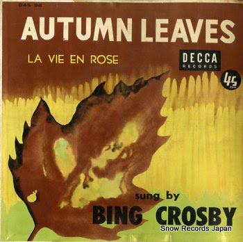 ビング・クロスビー 枯葉 Vinyl Records