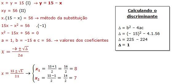 Resolucao De Problemas Envolvendo Sistemas De Equacoes De 2º Grau Infoescola