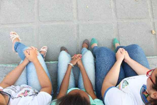 Alunas que sofriam bullying na escola buscaram ajuda. Brenda Alcantara/Esp DP/D.A Pres (Brenda Alcantara/Esp DP/D.A Pres)