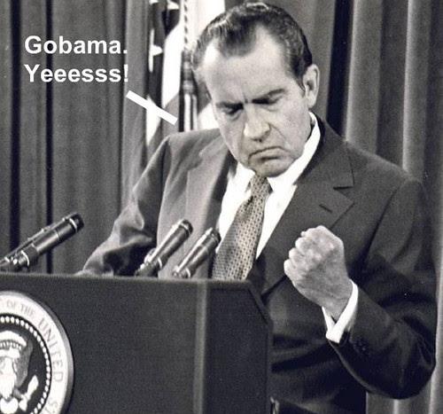 nixon loves obama