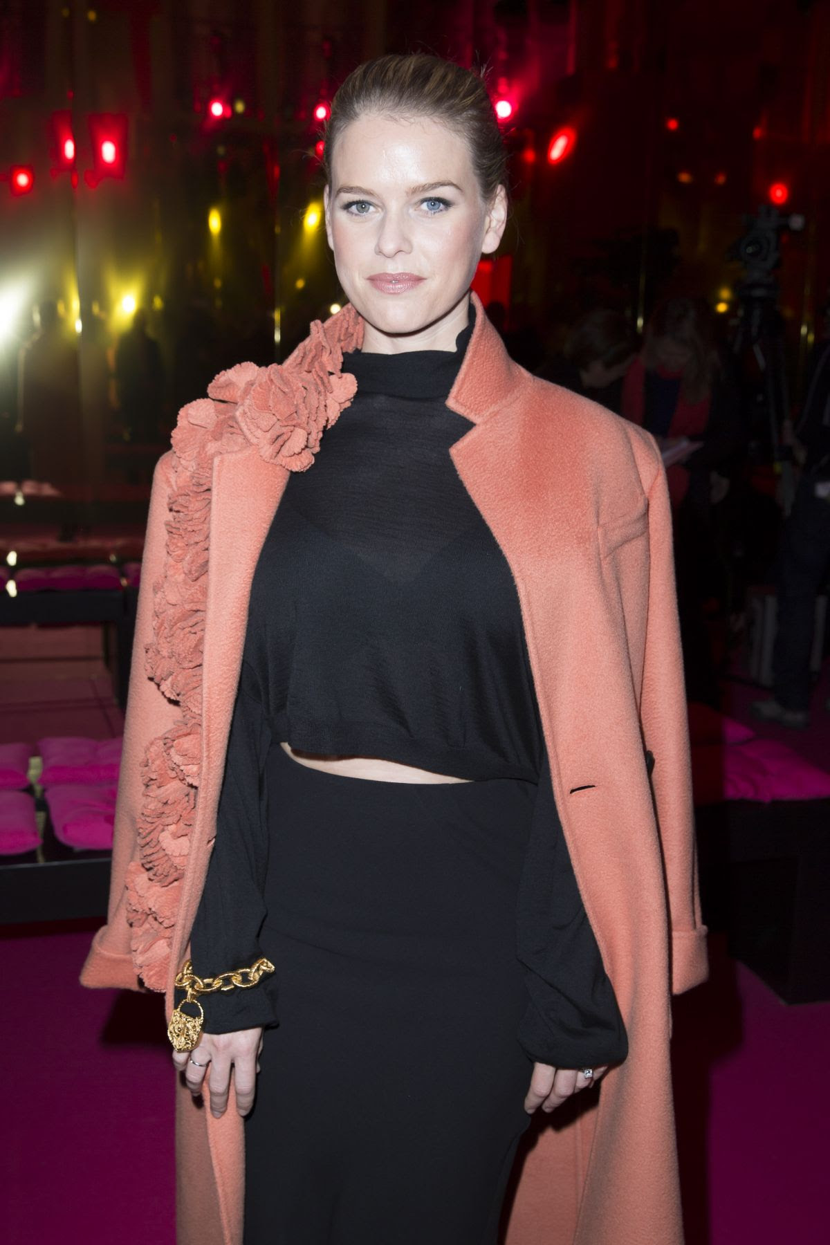 ALICE EVE at Schiaparelli Fashion Show in Paris