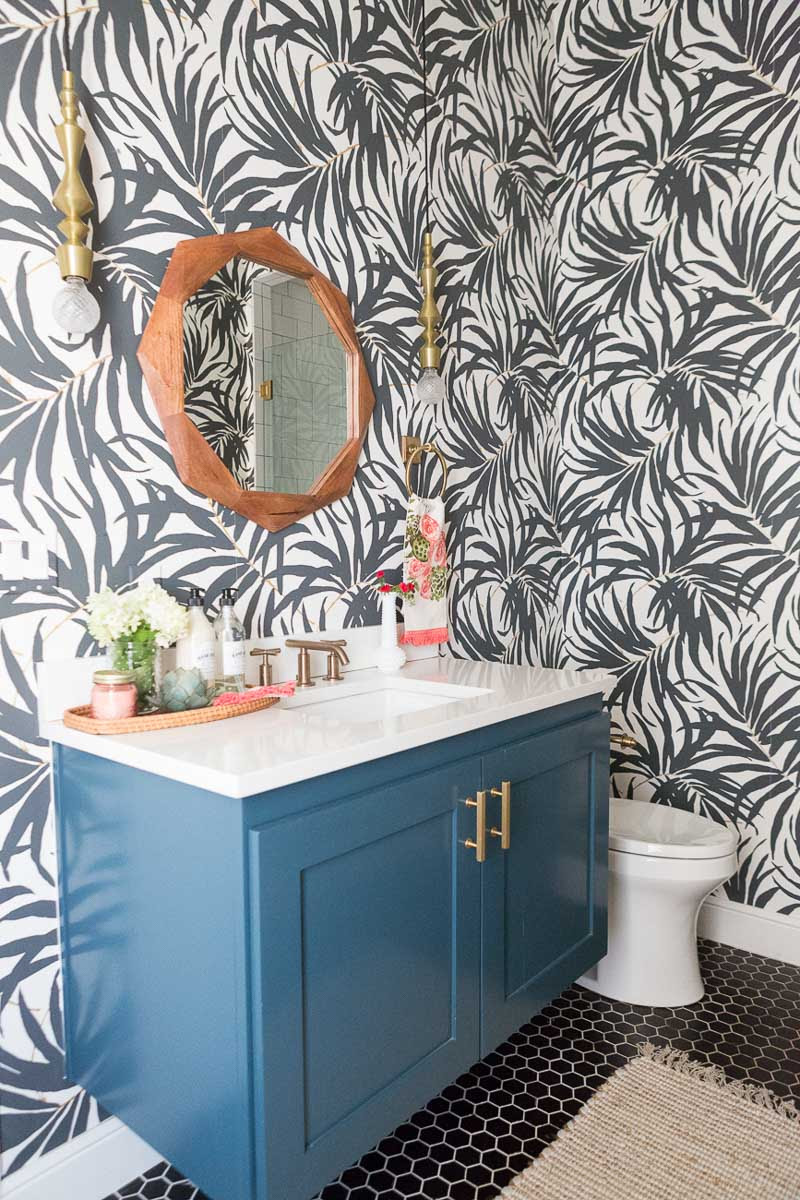 My Secret Weapon for Wallpapering Your Bathroom! | Driven ...