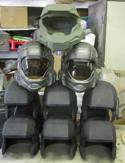 Helmet Stack