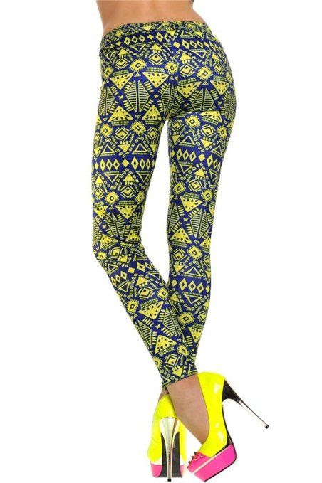 POPULAR FUNKY LEGGINGS!!  Women's Pattern Leggings Cotton Stretch Pants - Many Designs (00-Adventure Time:Purple): Clothing