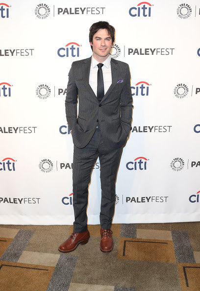 Ian Somerhalder - 'The Vampire Diaries' Honored at PaleyFest