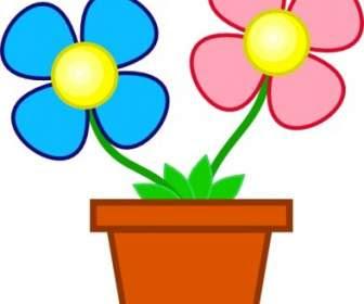إناء من الزهور البرية قصاصة فنية ناقلات قصاصة فنية ناقل حر تحميل مجاني