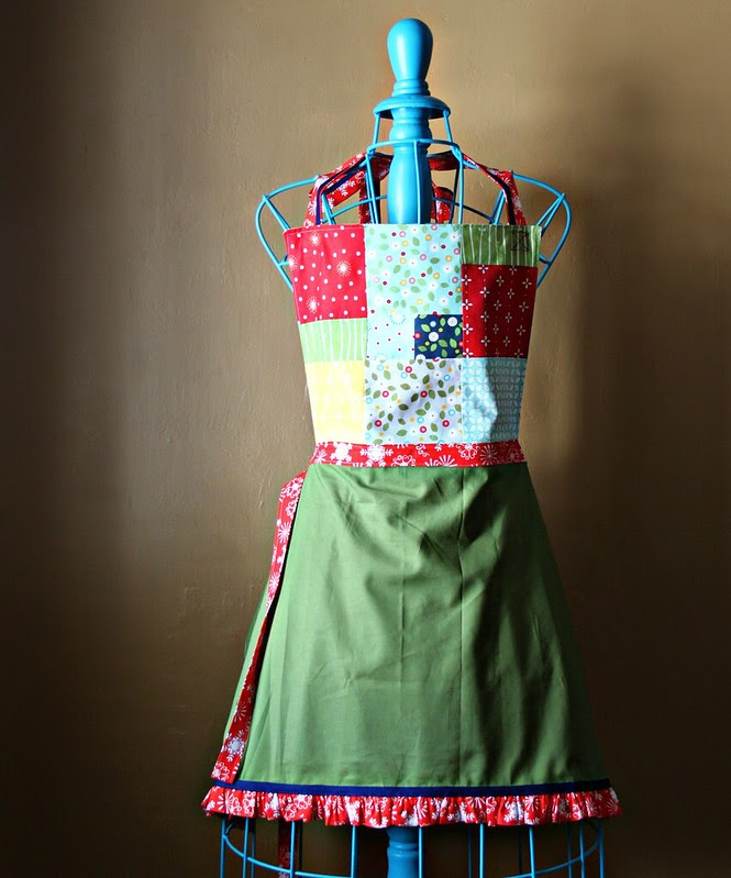 Wallflowers Holiday Apron