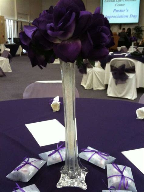 Purple Pastors Appreciation Party Ideas   Pastor