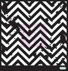 Prima 6x6 Mask: Distressed Chevron