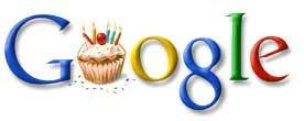 Google生日LOGO