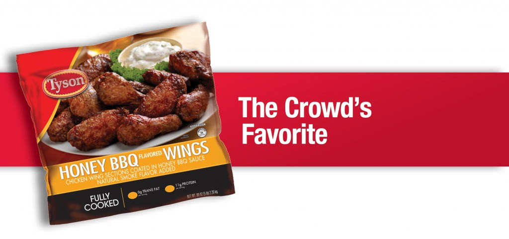 Great Recipes From Tyson Honey Bbq Wings