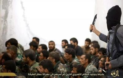 αιχμάλωτοι σύριοι στην αλ Τabqa