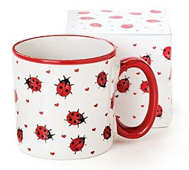 Ladybug Coffee Mug Cup Lady Bug Kitchen Home Decor | eBay